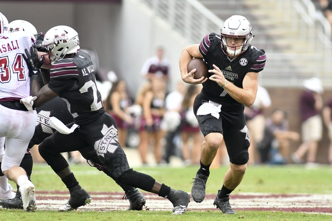 Arkansas vs. Mississippi State - 11/18/17 College Football Pick, Odds, and Prediction