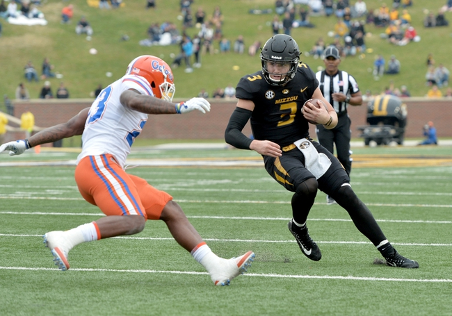 Missouri vs. Tennessee - 11/11/17 College Football Pick, Odds, and Prediction