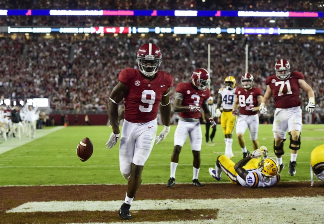 Mississippi State vs. Alabama - 11/11/17 College Football Pick, Odds, and Prediction