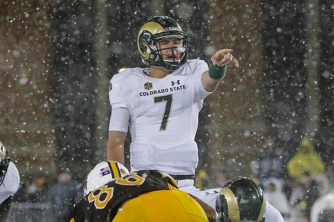 Colorado State vs. San Jose State - 11/18/17 College Football Pick, Odds, and Prediction