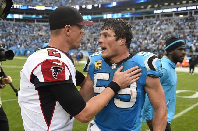 Carolina Panthers at Atlanta Falcons - 12/31/17 NFL Pick, Odds, and Prediction