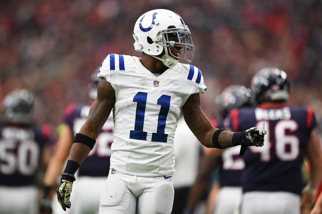 Pittsburgh Steelers at Indianapolis Colts - 11/12/17 NFL Pick, Odds, and Prediction