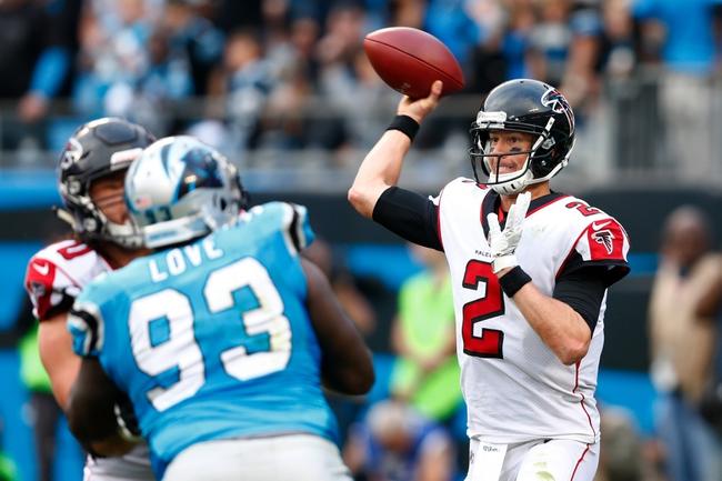 Atlanta Falcons vs. Carolina Panthers - 12/31/17 NFL Pick, Odds, and Prediction