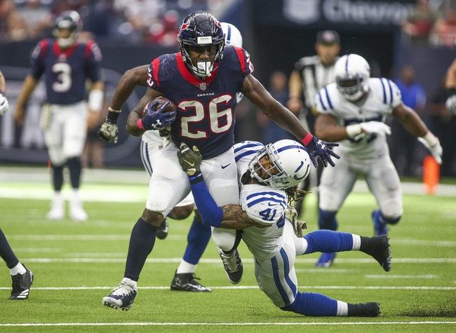 Indianapolis Colts vs. Houston Texans - 12/31/17 NFL Pick, Odds, and Prediction