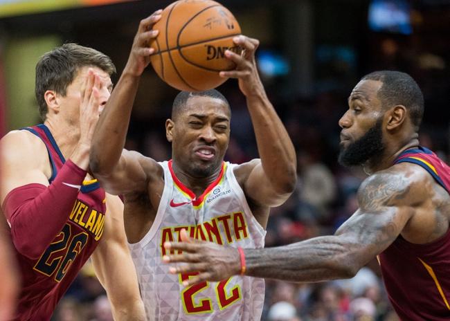 Atlanta Hawks vs. Cleveland Cavaliers - 11/30/17 NBA Pick, Odds, and Prediction