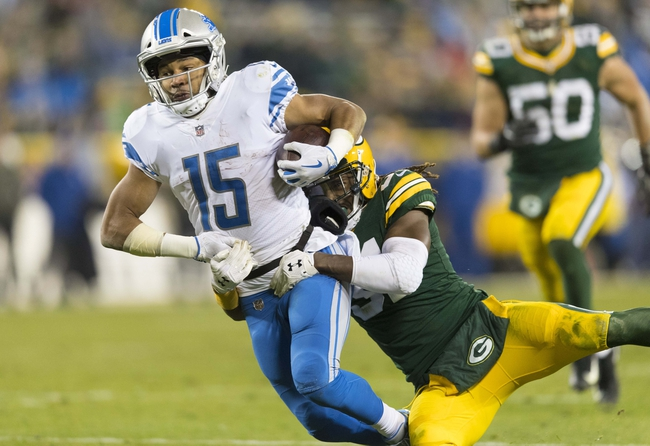 Green Bay Packers at Detroit Lions - 12/31/17 NFL Pick, Odds, and Prediction