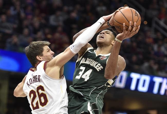 Milwaukee Bucks vs. Cleveland Cavaliers - 12/19/17 NBA Pick, Odds, and Prediction