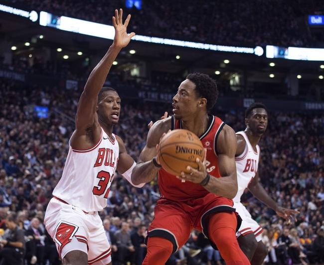 Chicago Bulls vs. Toronto Raptors - 1/3/18 NBA Pick, Odds, and Prediction