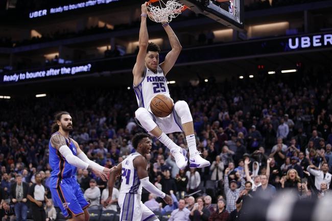 Oklahoma City Thunder vs. Sacramento Kings - 1/15/18 NBA Pick, Odds, and Prediction