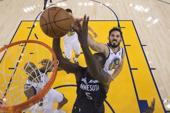 Golden State Warriors vs. Minnesota Timberwolves - 1/25/18 NBA Pick, Odds, and Prediction