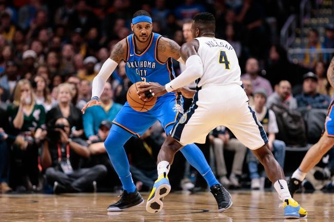 Oklahoma City Thunder vs. Denver Nuggets - 12/18/17 NBA Pick, Odds, and Prediction