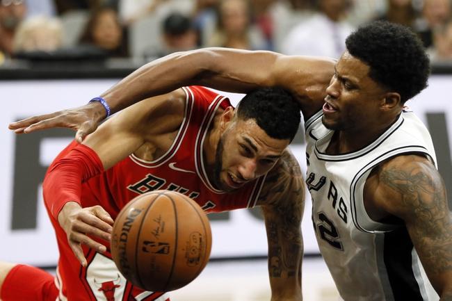 Chicago Bulls vs. San Antonio Spurs - 11/26/18 NBA Pick, Odds, and Prediction