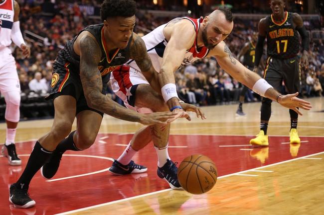 Atlanta Hawks vs. Washington Wizards - 12/27/17 NBA Pick, Odds, and Prediction