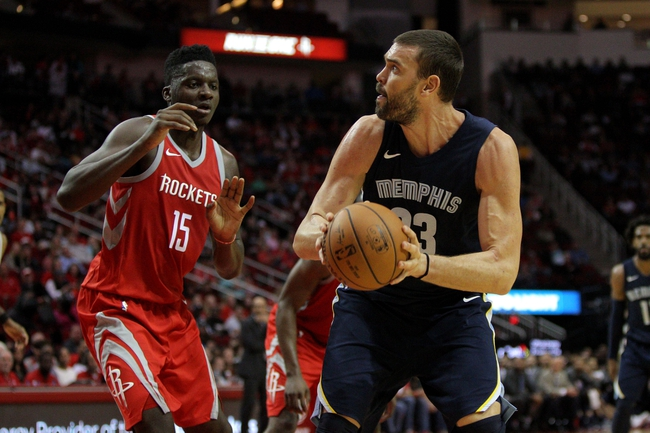 Memphis Grizzlies vs. Houston Rockets - 11/18/17 NBA Pick, Odds, and Prediction