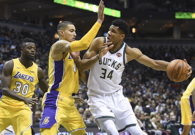 Los Angeles Lakers vs. Milwaukee Bucks - 3/30/18 NBA Pick, Odds, and Prediction