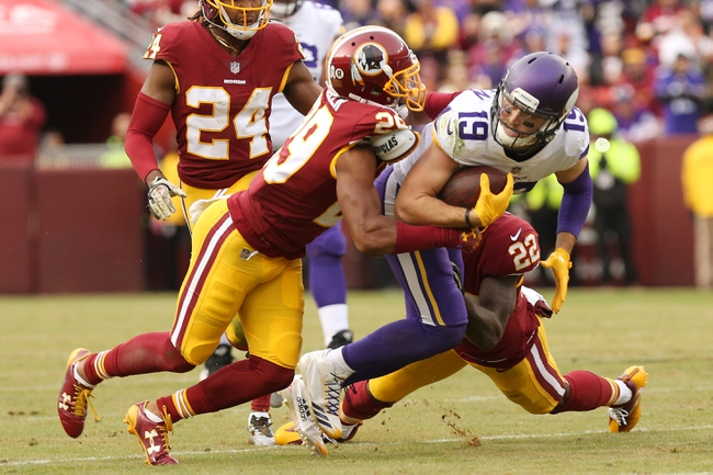 Washington Redskins at Minnesota Vikings - 10/24/19 NFL Pick, Odds, and Prediction