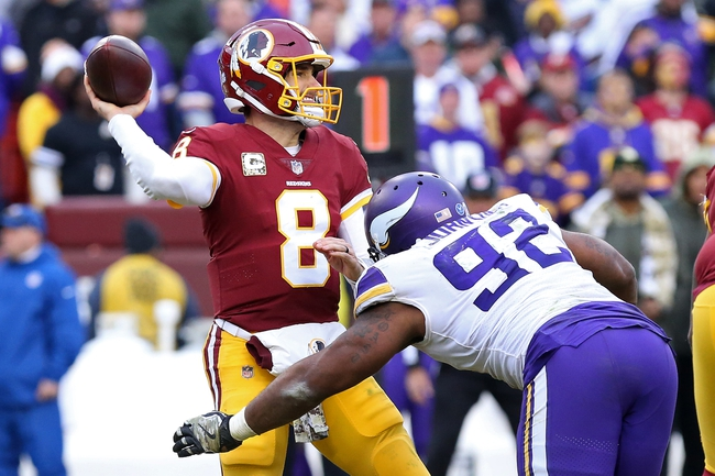 Minnesota Vikings vs. Washington Redskins - 10/24/19 NFL Pick, Odds, and Prediction
