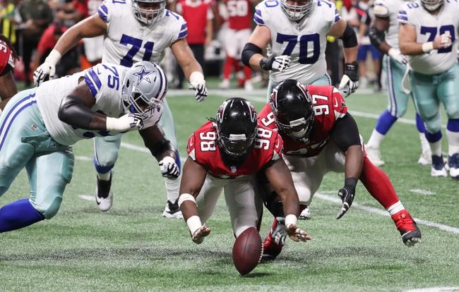 Atlanta Falcons vs. Dallas Cowboys - 11/18/18 NFL Pick, Odds, and Prediction