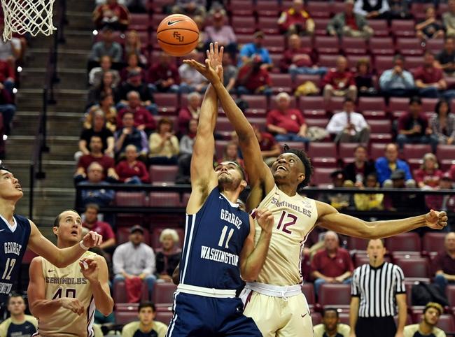 South Carolina vs. George Washington - 11/18/18 College Basketball Pick, Odds, and Prediction