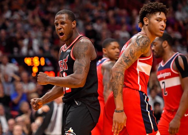 Washington Wizards vs. Miami Heat - 11/17/17 NBA Pick, Odds, and Prediction