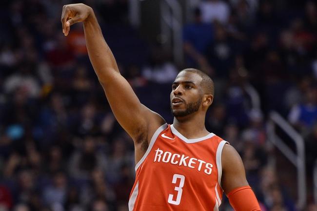 Phoenix Suns vs. Houston Rockets - 1/12/18 NBA Pick, Odds, and Prediction