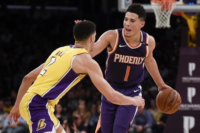 Los Angeles Lakers vs. Phoenix Suns - 2/6/18 NBA Pick, Odds, and Prediction