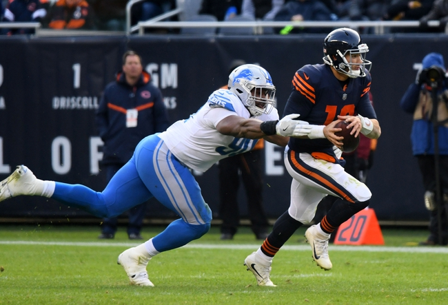 Detroit Lions vs. Chicago Bears - 12/16/17 NFL Pick, Odds, and Prediction