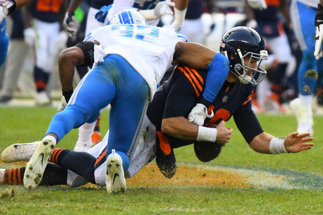 Chicago Bears at Detroit Lions - 12/16/17 NFL Pick, Odds, and Prediction