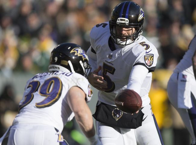 Houston Texans at Baltimore Ravens - 11/27/17 NFL Pick, Odds, and Prediction