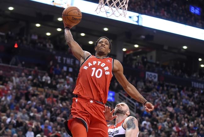 Washington Wizards vs. Toronto Raptors - 2/1/18 NBA Pick, Odds, and Prediction