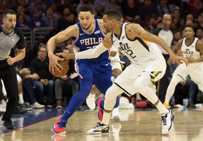 Philadelphia 76ers vs. Utah Jazz - 11/16/18 NBA Pick, Odds, and Prediction