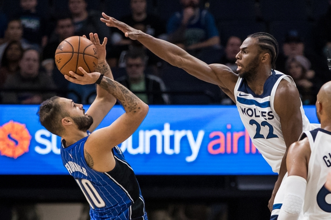 Orlando Magic vs. Minnesota Timberwolves - 1/16/18 NBA Pick, Odds, and Prediction