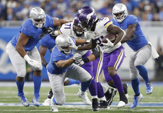 Detroit Lions at Minnesota Vikings - 11/4/18 NFL Pick, Odds, and Prediction