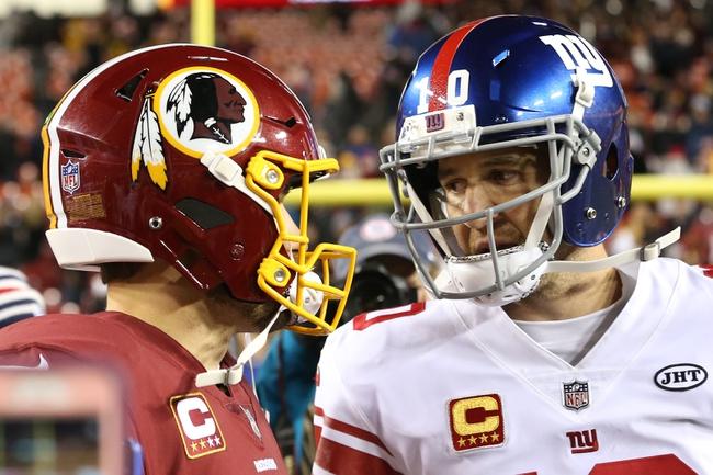 New York Giants vs. Washington Redskins - 12/31/17 NFL Pick, Odds, and Prediction