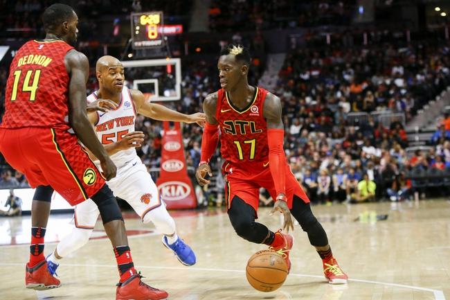 New York Knicks vs. Atlanta Hawks - 12/10/17 NBA Pick, Odds, and Prediction