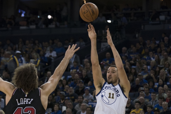 Chicago Bulls vs. Golden State Warriors - 1/17/18 NBA Pick, Odds, and Prediction