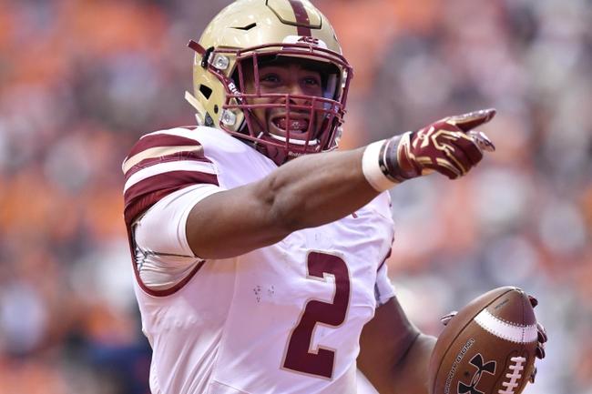 Boston College vs. Massachusetts - 9/1/18 College Football Pick, Odds, and Prediction