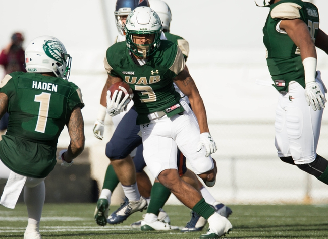 UAB vs. UTSA - 11/3/18 College Football Pick, Odds, and Prediction