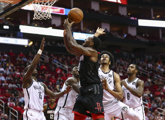 Brooklyn Nets vs. Houston Rockets - 2/6/18 NBA Pick, Odds, and Prediction