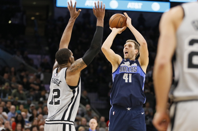 Dallas Mavericks vs. San Antonio Spurs - 12/12/17 NBA Pick, Odds, and Prediction