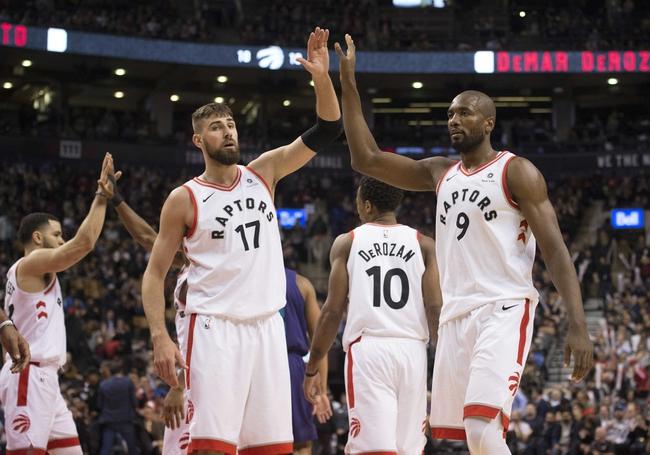 Charlotte Hornets vs. Toronto Raptors - 12/20/17 NBA Pick, Odds, and Prediction