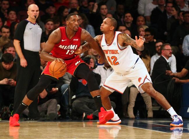 Miami Heat vs. New York Knicks - 1/5/18 NBA Pick, Odds, and Prediction