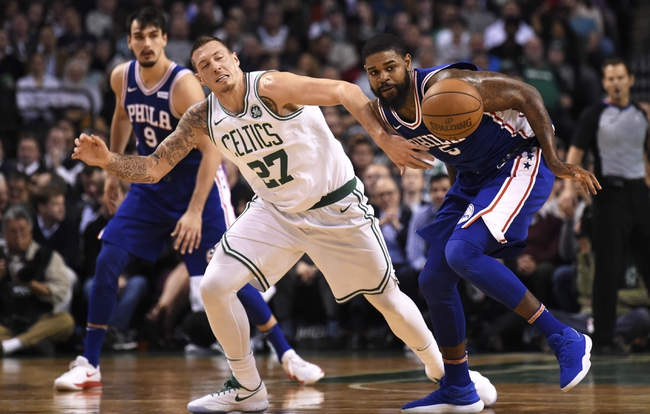 Philadelphia 76ers vs. Boston Celtics - 1/11/18 NBA Pick, Odds, and Prediction