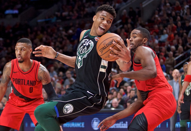 Portland Trail Blazers vs. Milwaukee Bucks - 11/6/18 NBA Pick, Odds, and Prediction