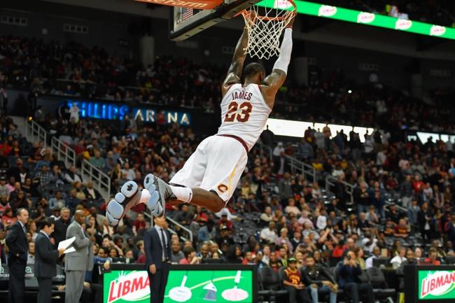 Cleveland Cavaliers vs. Atlanta Hawks - 12/12/17 NBA Pick, Odds, and Prediction