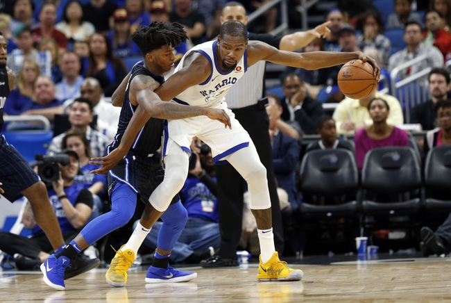 Golden State Warriors vs. Orlando Magic - 11/26/18 NBA Pick, Odds, and Prediction