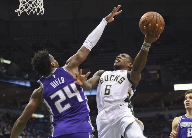 Milwaukee Bucks vs. Sacramento Kings - 11/4/18 NBA Pick, Odds, and Prediction