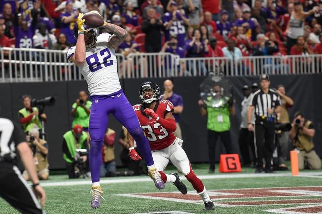 Minnesota Vikings vs. Atlanta Falcons - 9/8/19 NFL Pick, Odds, and Prediction