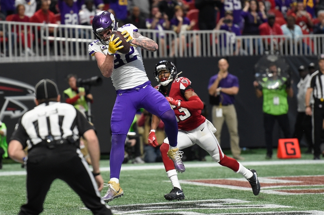 Atlanta Falcons at Minnesota Vikings - 9/8/19 NFL Pick, Odds, and Prediction