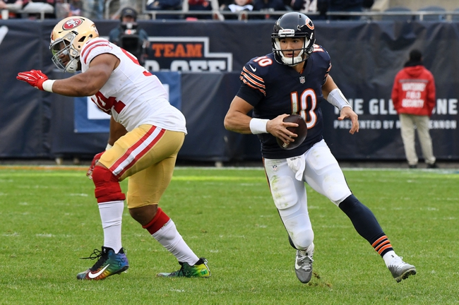 San Francisco 49ers vs. Chicago Bears - 12/23/18 NFL Pick, Odds, and Prediction